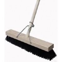 Broom - Platform 450 Black Soft Bristle