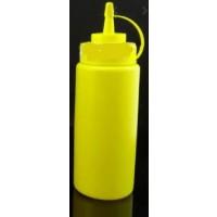 Sauce Bottle - 500ml Cap Yellow