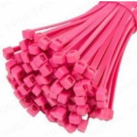 Cable Ties 100mm X2.5mm Pink - T18r