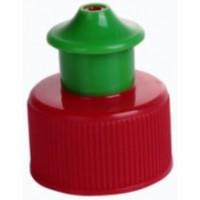 Cap 28mm Push/pull-green/red/yellow