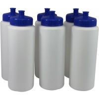 Bottle 500ml Tall Water Clear Push Pull Cap