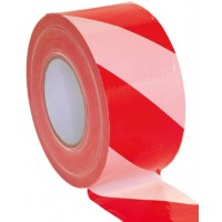 Barrier Tape - 75mmx500m Red And White