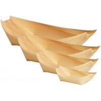 Wooden Disp. Boat (l) 20pcs (220x115mm)