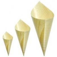 Bamboo Disp. Cones (l) 20pcs(170mm)