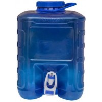 Water Canister Tap 10 Ltr Blue
