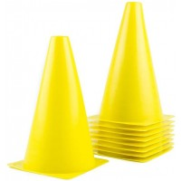 Cone Plastic 140x230mm (yellow)