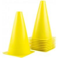 Cone Plastic 140x230mm (yellow)