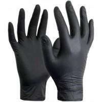 Gloves Nitrite Black (xl)