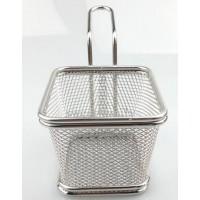 Chip Serve Fryer Basket With Handle