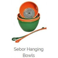 Hanging Bowl And Hook - Sebor 25cm Green
