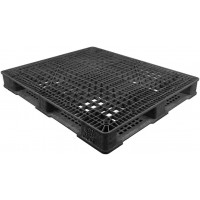 Pallet - Plastic -1200x1000x145mm Black