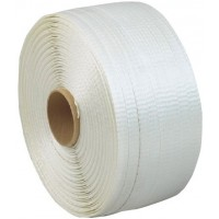 Strapping Polyester 1 Red/blk Wov 19mmx500m