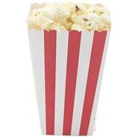 Pop Corn Boxes-medium Red/white