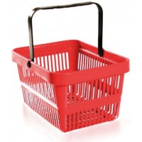 Shopping Basket Red