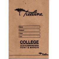 Book - A4 32pg College Ex Feint-m