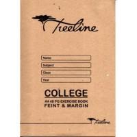 Book - A4 48pg College Ex Feint-m