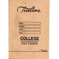 Book - A4 72pg College Ex Feint-m