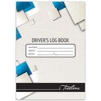 Drivers Log Book - A5 32pg Soft/c
