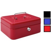 Cash Box - Tcbx 06 Inch Red