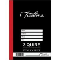Book - A4 288pg 3 Quire Feint-m