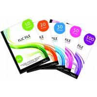 Flip File - A4 20 Pocket - Flic