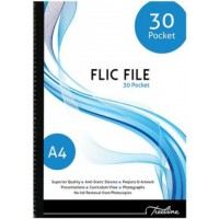 Flip File - A4 30 Pocket - Flic
