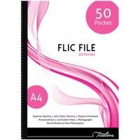 Flip File - A4 50 Pocket - Flic