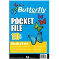 Flip File - A4 10 Pocket - Butterfly