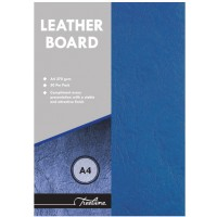 Leather Board - Blue