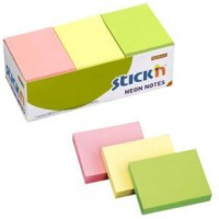Sticky Note - 76x127mm Pastel Yellow