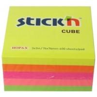 Cube - 76x76mm Ass Neon