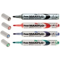 Whiteb Marker - Pentel Dry E Blue