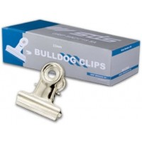 Bulldog Clips - 22mm Silver