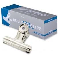 Bulldog Clips - 75mm Silver