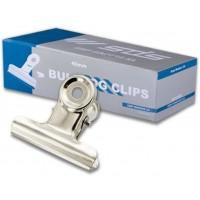 Bulldog Clips - 40mm Silver (12) /pkt