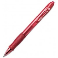 Bic Velocity Pen - Med Gel Red