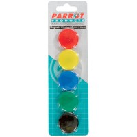 Magnets - Circle 30mm Parrot