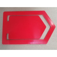 Paper Clip - 100mmx186mm Plastic V Shape