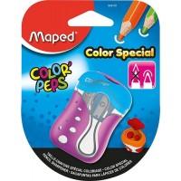 Pencil Sharpener - 2hole Colour Peps Maped