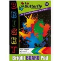 Pad - A4 50sheet Board Bright