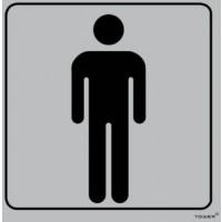 Tower - Aluminium Sign Std Mens Toilet