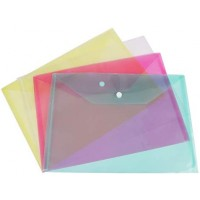 Envelope - A5 Plastic Stud - Clear