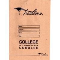 Book - A4 72pg College Ex Unruled