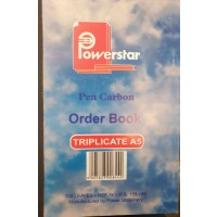 Carb Book A5 Trip 100pg Order Book