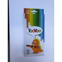 Tooyoo Colour Pencils 12s