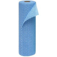Wipes On A Roll 240mm X 500mm 30s - Blue