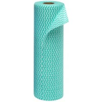 Wipes On A Roll 300mm X 500mm 30s - Green