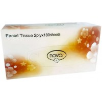 Facial Tissues 2ply Nova