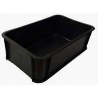 Tray - Meat Medium - 648x384x209 Black