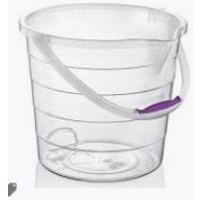 Clear Stepped Cleaning Bucket 10lt